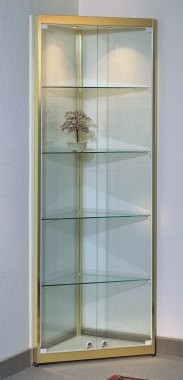 wohnvitrinen eckvitrine modell w 950 swarovski. Black Bedroom Furniture Sets. Home Design Ideas